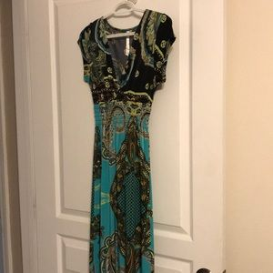 Cristinalove multicolored maxi